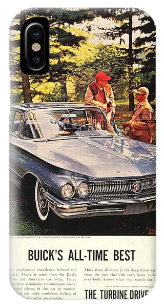 1960 - Buick Lesabre Sedan Advertisement - Color IPhone Case