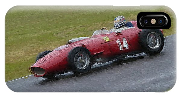 1960 Ferrari Dino Racing Car IPhone Case