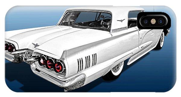 1960 Ford Thunderbird IPhone Case