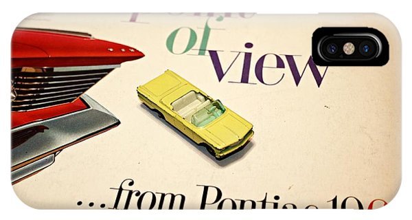 1960 Pontiac Matchbox Cover Car IPhone Case