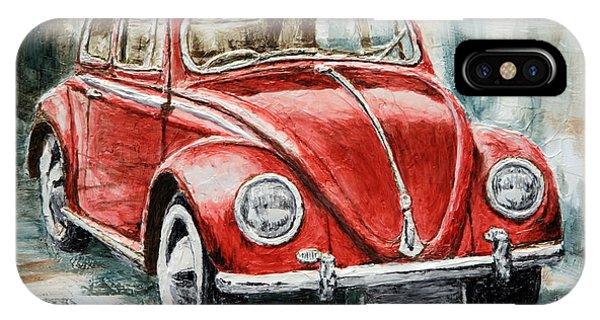 1960 Volkswagen Beetle 2 IPhone Case