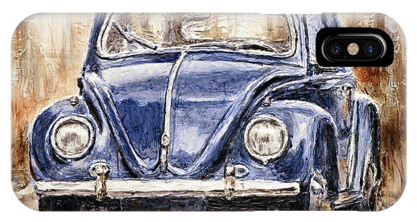 1960 Volkswagen Beetle IPhone Case