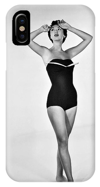 1960s Bathing Suit Design IPhone Case