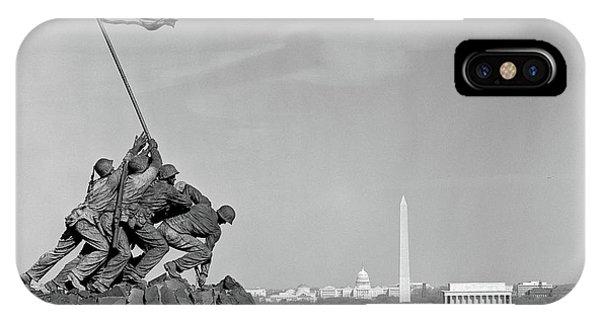 1960s Marine Corps Monument IPhone Case
