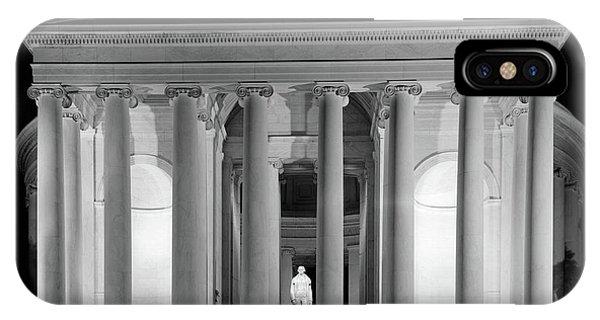 1960s Thomas Jefferson Memorial Lit IPhone Case