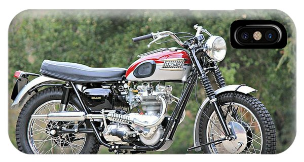 1961 Triumph Tr6c IPhone Case