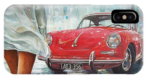 1963 Porsche 356 C IPhone Case
