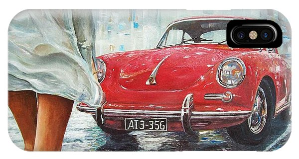 1963 Porsche 356 C IPhone Case