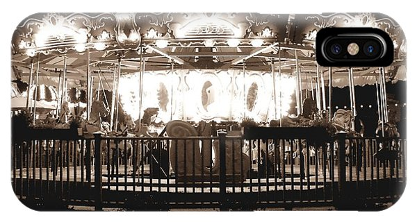 1964 Allan Herschell Carousel IPhone Case