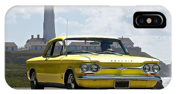 Corvair iPhone Case - 1964 Chevrolet Corvair I by Dave Koontz