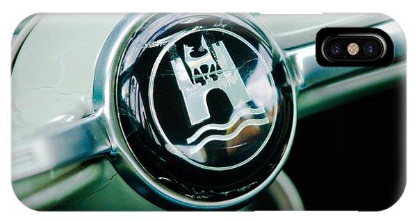 Volkswagen iPhone Case - 1964 Volkswagen Vw Steering Wheel by Jill Reger