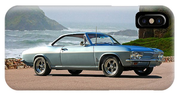 Corvair iPhone Case - 1965 Chevrolet Corvair by Dave Koontz