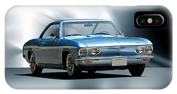 Corvair iPhone Case - 1965 Chevrolet Corvair I by Dave Koontz
