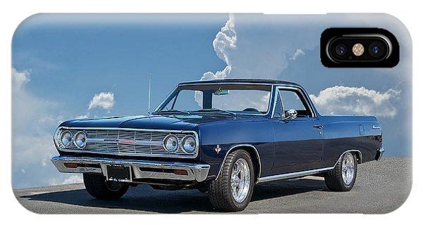 1965 Chevrolet El Camino Phone Case by Dave Koontz