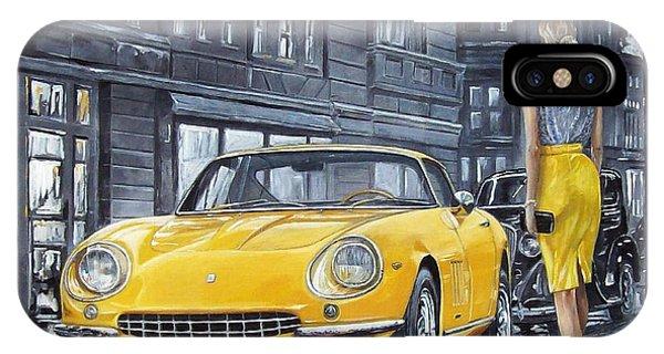 1965 Ferrari 275 Gtb IPhone Case
