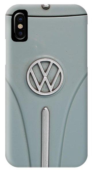 1965 Volkswagen Beetle Hood Emblem IPhone Case