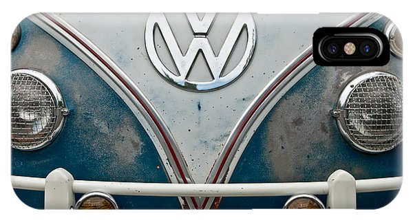 IPhone Case featuring the photograph 1965 Vw Volkswagen Bus by Jani Freimann