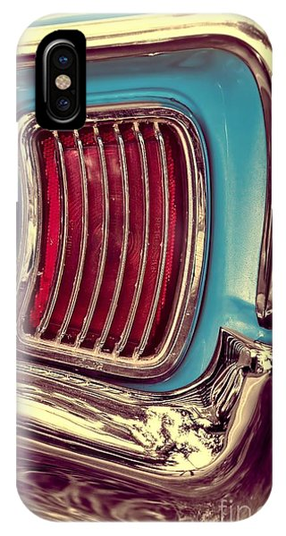1966 Pontiac Tempest Taillight IPhone Case
