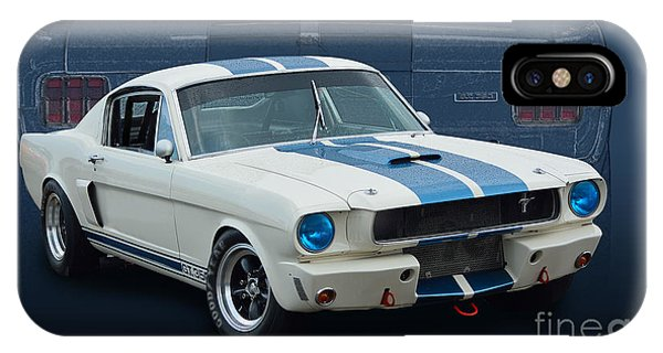 1966 Shelby Gt350 IPhone Case