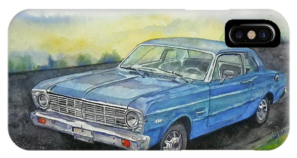 1967 Ford Falcon Futura IPhone Case
