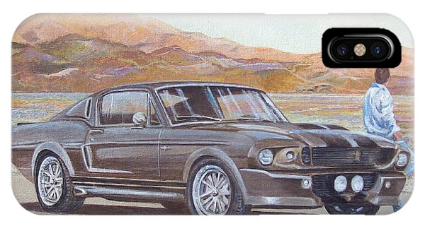1967 Ford Mustang Fastback IPhone Case
