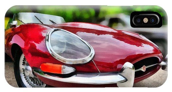 1967 Jaguar E Type IPhone Case