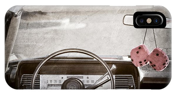 Lincoln Continental iPhone Case - 1967 Lincoln Continental by Jill Reger