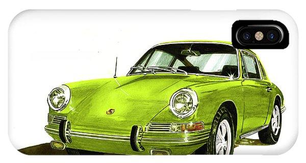 1967 Porsche 911  IPhone Case