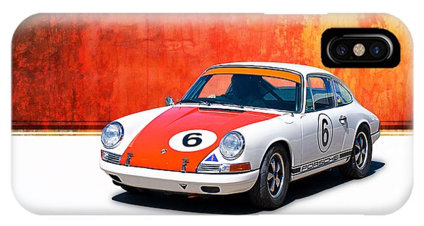 1968 Porsche 911 IPhone Case