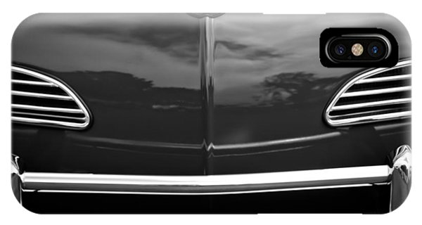 Volkswagen iPhone Case - 1968 Volkswagen Karmann Ghia Convertible by Jill Reger