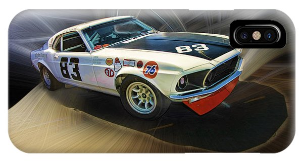 1969 Boss 302 Mustang IPhone Case