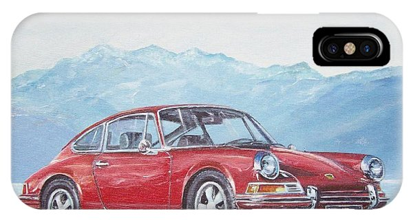 1969 Porsche 911 2.0 S IPhone Case
