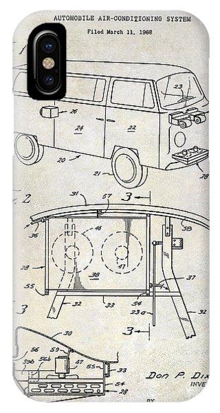 Volkswagen iPhone Case - 1970 Vw Patent Drawing by Jon Neidert