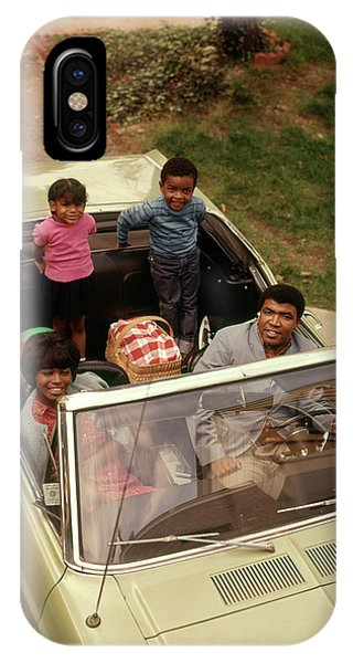 Eye Ball iPhone Case - 1970s African American Family Of Four by Vintage Images