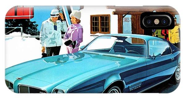 1971 Pontiac Firebird Espirit IPhone Case