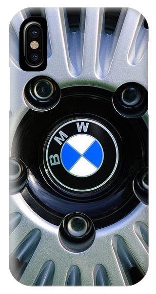 0 iPhone Case - 1973 Bwm 3.0 Csl Wheel Emblem by Jill Reger