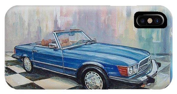 1976 Mercedes-benz 450 Sl IPhone Case