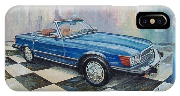 1976 Mercedes-benz 450 Sl IPhone Case