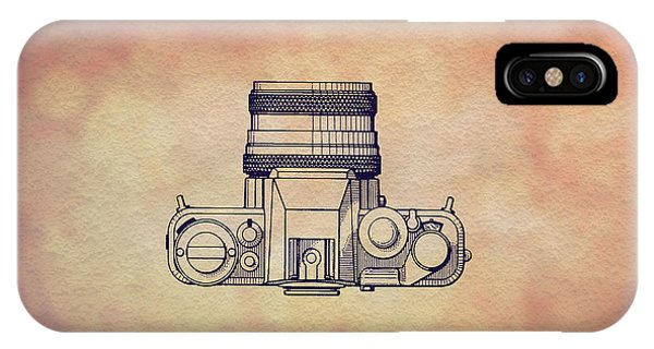 Vintage iPhone Case - 1979 Rollei Camera Patent Art 2 by Nishanth Gopinathan