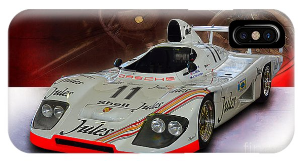 1981 Porsche 936/81 Spyder IPhone Case