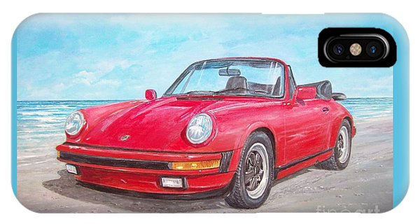 1987 Porsche Carrera Cabriolet IPhone Case