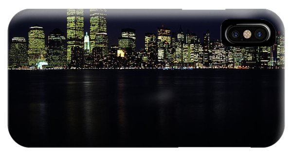 199os Skyline New York City Ny Downtown IPhone Case