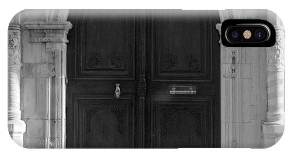 19th Century Doorway IPhone Case