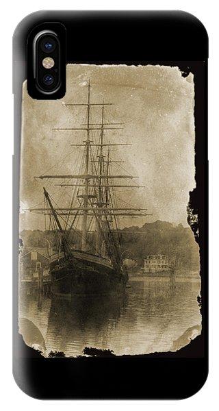 19th Century Schooner IPhone Case