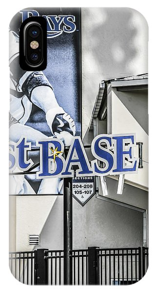 1st Base IPhone Case