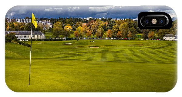 Prints For Sale Kings Golf Course Gleneagles IPhone Case