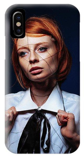 Red Hair iPhone X Case - ... by Artem Vasilenko