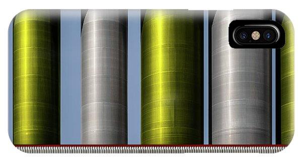 Metal iPhone Case - .... by Harry Verschelden