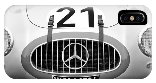Coupe iPhone Case - 1952 Mercedes-benz W194 Coupe by Jill Reger