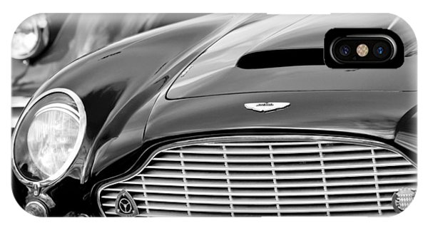 Martin iPhone Case - 1965 Aston Martin Db6 Short Chassis Volante by Jill Reger